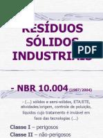 Ger-Nciamento de Res-Duos S-Lidos Industriais