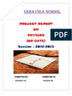 Physics Project Ali