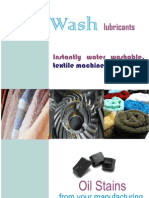 Instawash Textile Machinery Water Washable Lurbricants