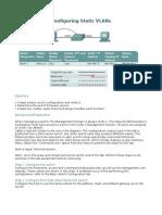 Configuring Static VLAN