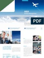 Brochure MBA Aviation Management