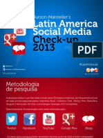 Uso Das Redes Sociais Das 25 Maiores Empresas Da America Latina