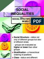 Social Inequalities Slides