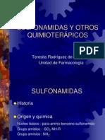 SULFONAMIDAS Y OTROS QUIMIOTERÁPICOS