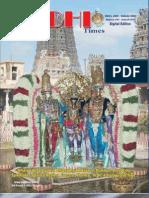 Siddhi Times - Chithirai Edition - Dr. Commander Selvam