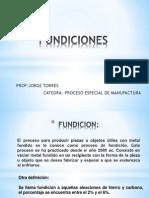 Fundiciones(Clase 1)
