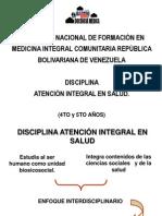 Inducción Disciplina Atención Integral en Salud