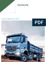 Daimler Q1 2013 Interim Report