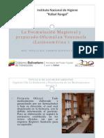 Formulacion Magistral en Venezuela