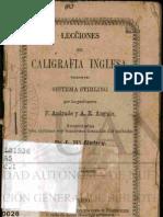 Caligrafia Inglesa