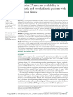 Adenosine 2A Receptor Availability In