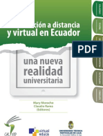 Libro2013 La Educacion a Distancia y Virtual en Ecuador