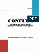 COnflux Journal of Education Issn 2320-9305 Nas Publishers