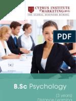 b Sc Psychology