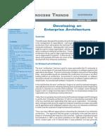Developing an Enterprise Architecture