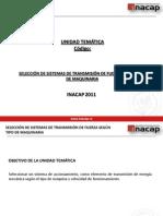 Unidad 5 SELECCIÓN DE SISTEMAS DE TRANSMISIÓN DE FUERZA