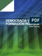 JOSEF THESING - Democracia y Formacion Politica