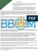 Comunicado - Posição BBOM