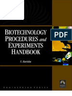 S. Harisha Biotechnology Procedures and Experiments