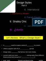 Design Styles Part 2.Ppt