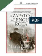 Zabat, Maria El Zapato de La Lengua Rota