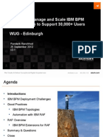 Scaling and Managing IBM BPM With RAF - WUG v2-1