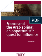 WP110 France and Arab Spring
