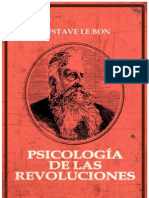 33136349 Gustave Le Bon Psicologia de La Revoluciones