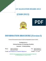 Csab 2013 Information Brochure Version i (30.06.2013)