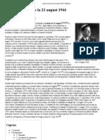 Lovitura de Stat de La 23 August 1944 - Wikipedia