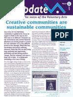 The arts help us create sustainable communities