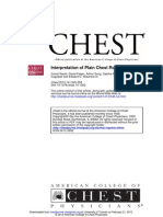 Interpretation of Plain Chest Roentgenogram 2012