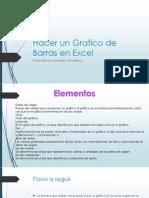 Hacer Un Grafico de Barras en Excel
