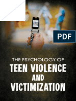 Paludi, Michele a. 2011 - The Psychology of Teen Violence and Victimization