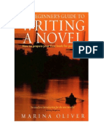 Tapa y Nombre de Un Libro Para Escribir Una Novela