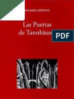 Las Puertas  de Tannhäuser de Eduardo Esposito por Juan Carlos Vasquez