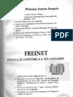 Freinet evolução histórica e atualidades