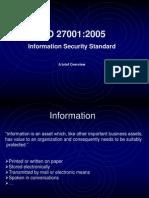 ISO 27001-2005 Awareness