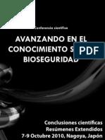 Avanzando en el Conocimiento sobre Bioseguridad