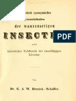 Die Wanzenartgen Insecten V1, Herrich-Schäffer 1853
