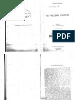 Os Partidos Politicos - Maurice Duverger