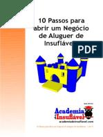 10 Passos Para Abrir Um Negócio de Aluguer de Insufláveis.