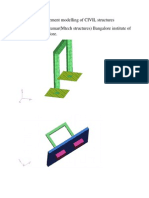 Finite element modelling of civil structures