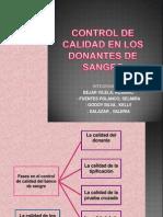 Control de Calidad en Los Donantes de Sangre. Ch (1)