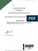 EFC Special Resolution Sept 2008