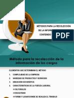 METODO PARA LA RECOLECCIÓN DE LA INFORMACIÓN CARGOS