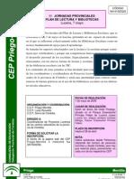 II Jornadas Provinciales Plan LyB (Córdoba, 2009)