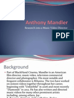 Anthony Mandler - Music Video Director