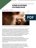 Identifique e Combata as Principais Causas Da Falta de Desejo Sexual - Comportamento - UOL Mulher