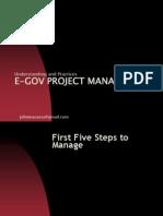 EGOV PROJECT MANAGEMENT PRIMER 2013